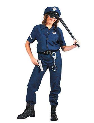 Pierro´s Kostüm Polizist American Cop Größe (Und Gangster Kostüm Cop Halloween)