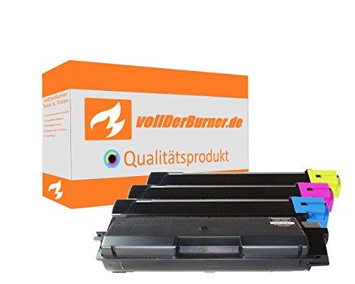 Preisvergleich Produktbild vollDerBurner 4x XL Toner für Kyocera TK-590 TK590 1T02KV0NL0 1T02KVCNL0 1T02KVBNL0 1T02KVANL0 1x 14000 & 3x 10000