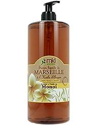 MKL Green Nature Savon Liquide de Marseille Monoï 1L