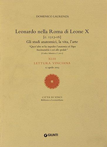 Leonardo nella Roma di Leone X