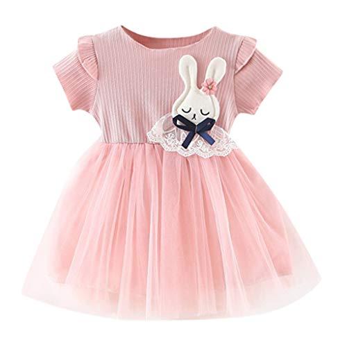 Baby Mädchen Prinzessin Kleid Cramberdy Kinderbekleidung Kinder Mädchen Mode Karikatur Hemd Kleid Kleiderset Sommerkleider Partykleider Streetwear Mäntel Röcke Blumen Ballettröckchen T-Shirt Kleid