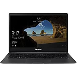 "Asus ZenBook UX331UN-EG004T Ultrabook, Display da 13.3"", Processore i7-8550U, 1.8 GHz, SSD da 512 GB, 8 GB di RAM, nVidia GeForce MX150, Grigio [Layout Italiano]"