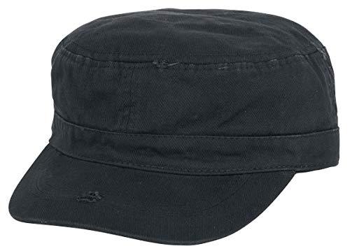 emp caps Black Premium by EMP Vintage Army Cap Army-Cap schwarz
