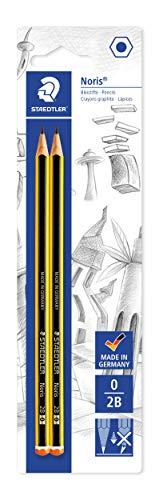 Staedtler bk2d matite 2b, 2 pezzi