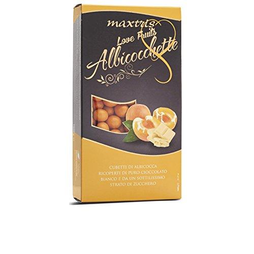Mandeln Aprikosen (MAXTRIS | Italienische Mandel Konfetti | ALBICOCCHETTE (APRIKOSEN) | 1 Kg.)