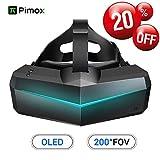 Pimax 5K XR OLED VR Cuffie da Realtà Virtuale con Ampio Campo Visivo a 200...