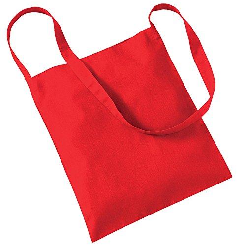 Westford Mill, Borsa tote donna Rosso brillante