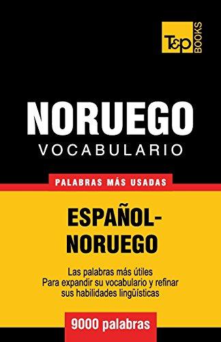 Vocabulario Español-Noruego - 9000 palabras más usadas por Andrey Taranov