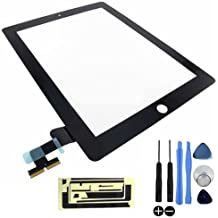 Kit de reparación de pantalla Touch Screen Digitizer para Apple iPad 2 (Negro)
