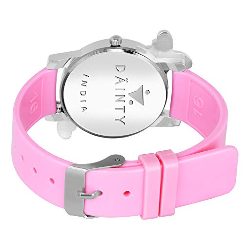 DAINTY Girl's and Women's Quartz Watch with Analogue Display and PU Strap -PK-052