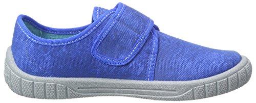 Superfit Bill, Chaussons garçon Bleu - Blau (CYAN KOMBI 85)