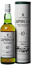 Laphroaig 10Jahre IslaySingleMaltScotch Whisky 10Jahre, Standard (1 x 0.7 l)