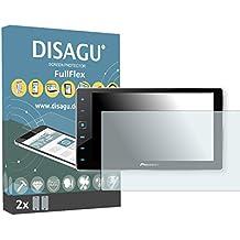 2 Disagu FullFlex protector pantalla para Pioneer SPH-DA120 (AppRadio 4) protectores de pantalla