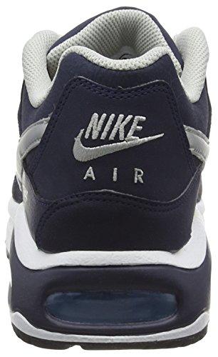 Nike Nike Air Max Command Leather, Chaussures de running entrainement homme Bleu  (Bleu  (obsidienne / argent métallisé-BlueCap blanc))