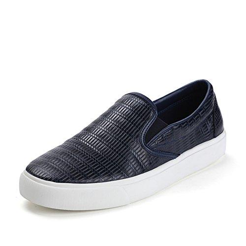 Nuove autunno in rilievo scarpe/Un pedale scarpe Blu