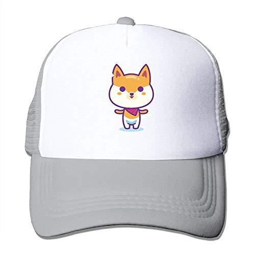 uykjuykj Baseball Caps Hats Adult Unisex Cap Shiba Inu Dog Mesh Caps Dad Hat Baseball Cap Trucker Cap for Mens&Womens Adjustable Unique Personality Cap Baseballmütze