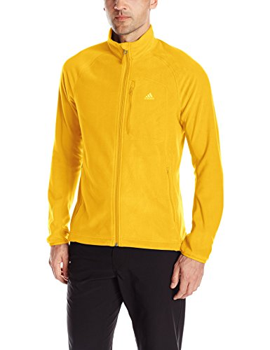 Adidas Outdoor Herren Hiking reachout Fleece Jacke Equestrian Orange