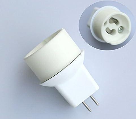 3x adaptateur Culot MR16, GU5.3sur GU10Lumière adaptateur Adaptateur Socket Lampe Socket