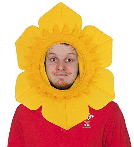 ILOVEFANCYDRESS Filz Wahrzeichen Hüte = Wales = = NARZISSEN Hut Tolle Hüte FÜR Jede Art der SPORTVERANSTALLTUNGEN Oder Fan Kostüm Verkleidung= Verschieden STÜCKZAHLEN= 3 Hüte