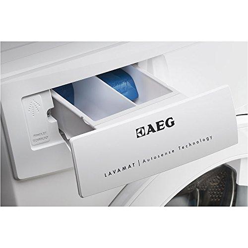 AEG LAVAMAT L68470FL Waschmaschine FL / A+++ / 171 kWh/Jahr / 1400 UpM / 7 kg / 9499 L/Jahr / ProSense – Mengenautomatik / Einfache Bedienung / weiß - 5
