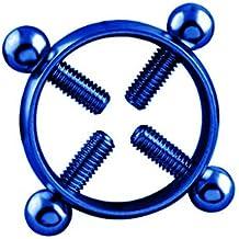 K-youth® Anillo de pezón quirúrgico pezón anillo de perforación del cuerpo Afluencia de