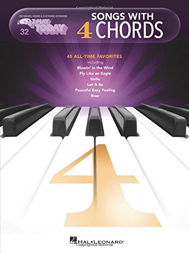 Songs with 4 Chords: E-Z Play Today Volume 32