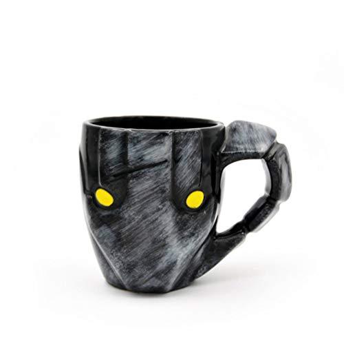 PORCN jarras de cerveza Taza de café Sven Stein Tazas 350 ml Oficina personal creativa Taza Porcelana Personalidad Vasos Vasos Cool Drinkware, A