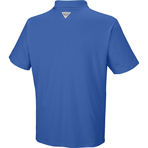 Columbia Men 's Grupa Zero rulestm Polo Shirt Königsblau
