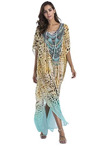 Vestido Largo Verano Mujer Bohemio Camisolas Talla