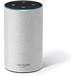 Amazon Echo - Smart speaker with Alexa | Powered by Dolby – White