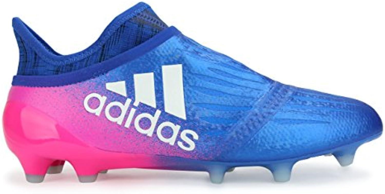 709ec1adc13 adidas hommes est x 16   purechaos fg bleu   16 blanc des chaussures de  football. 31297e
