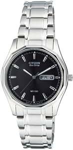 Citizen Herren-Armbanduhr Analog Quarz Edelstahl BM8430-59EE