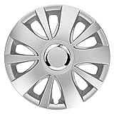 CM DESIGN HIT Silber 15 Zoll, passend für Fast alle Mercedes Benz z.B. für A-Klasse W168