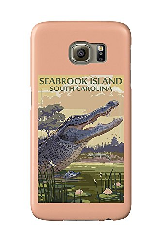 Seabrook Island, South Carolina - Tidepool (Galaxy S6 Cell Phone Case, Slim Barely There) -