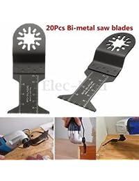 Tradico® TradicoBrand New 20Pcs Bi-Metal Multi Tool Saw Blades Kit For FEIN Erbauer Makita Craftsman