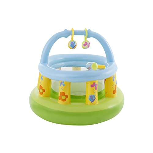 Intex 48474NP – Soft Sides my First Gym *Play Centre* Age 9-18 Months Garden Indoor Use 41Pi7OBKfTL