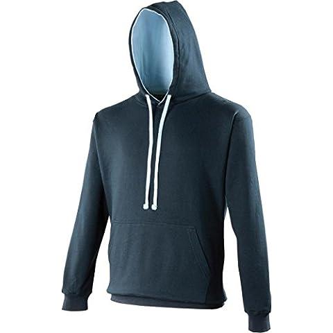 AWDis abbigliamento invernale Unisex con cappuccio Varsity-Felpa con cappuccio