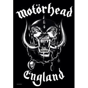 Motörhead Posterflagge England Fahne Flagge Textilposter 75x110cm