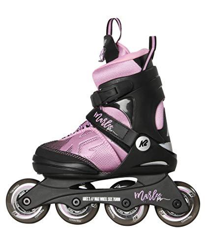 K2 Unisex-Kinder Marlee Pro Pack Skateboardschuhe, Schwarz (Black/Lavendel 001), 29 EU -