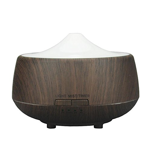 CFZHANG Wooden Luftbefeuchter USB Aromatherapie Ultraschall ätherisches Öl Diffusor Haushalt , Deep