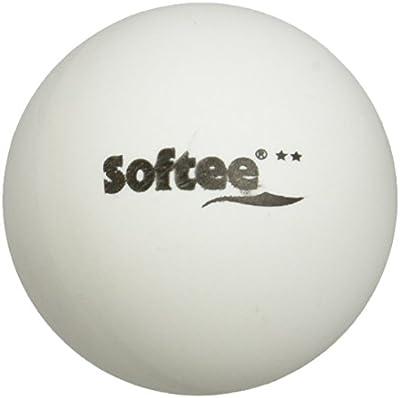 Softee 6874 - Pelotas en blíster, color negro / blanco