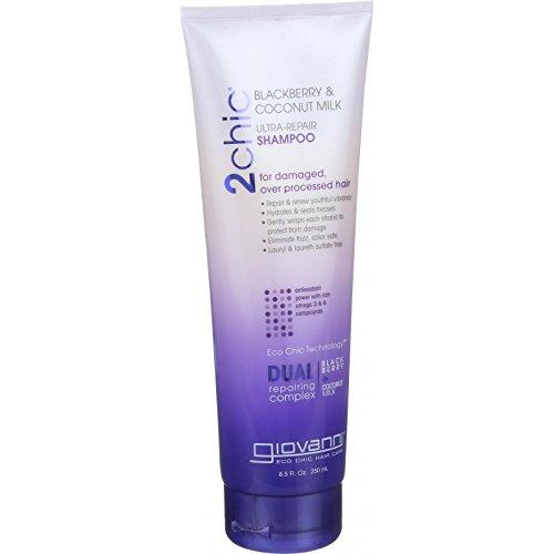 Giovanni 2chic Ultra Repair Shampoo - Blackberry and Coconut Milk 250 ml