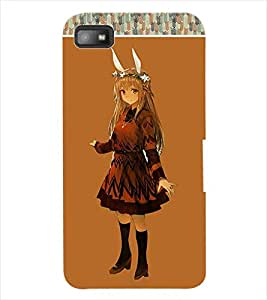 ColourCraft Girly Back Case Cover for BLACKBERRY Z10