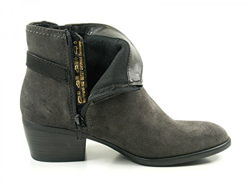 Tamaris Damen 25010 Stiefel Grau (Anthracite/Blk)