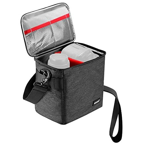 Civic Neewer Waterproof DSLR Camera Bag and Lens Storage Carrying Case Soft Padded Space Saving Bags for Canon Nikon Sony Padded Lens