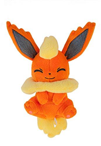 Pokemon-XY-Z-Flareon-5-inch-Relaxing-Time-Juguete-De-Peluche