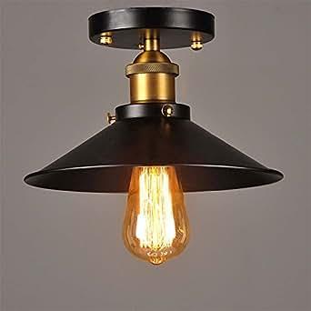 baycheer retro vintage deckenlampe deckenleuchten wohnzimmerlampen k chenlampen f r led. Black Bedroom Furniture Sets. Home Design Ideas