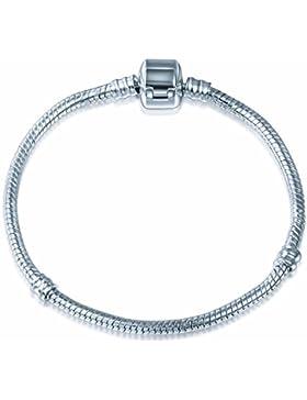 A TE® Armband Bead Clip Charms Trägerelemente 3 Size 18CM/20CM/21CM #JW-B00