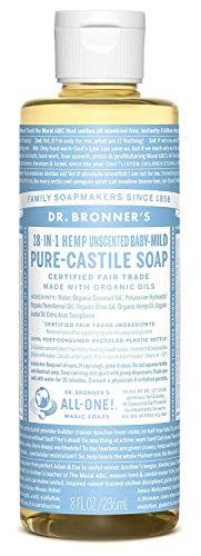 Jabón castilla Dr. Bronner. Jabón castilla ingredientes
