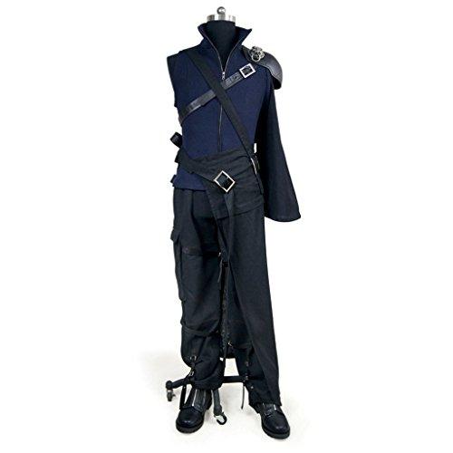 Strife Kostüm Cloud - Final Fantasy VII_Advent Children__Cloud Strife_clothing+weapon bag+shoes XXX-Large